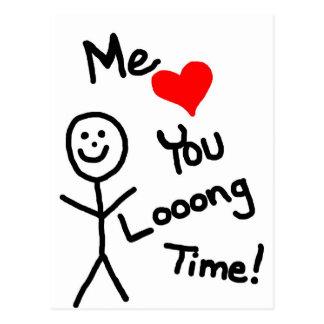 Je des amours vous collez la bande dessinée de per carte postale