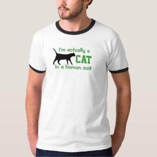 Je des hommes 'suis en fait un Cat T-shirt