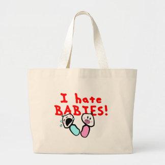 Je déteste des bébés ! grand sac