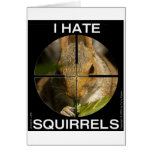 Je déteste des écureuils - dans la portée - carte
