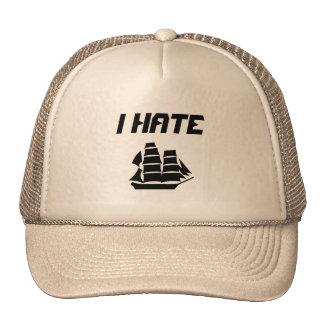 Je déteste le bateau à voile