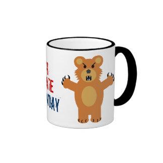 Je déteste lundi tasse