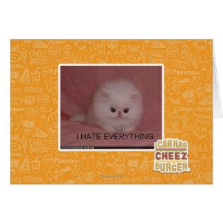 Je déteste tout cartes