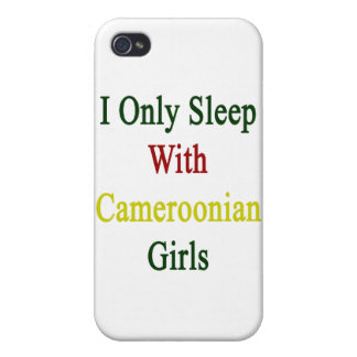 Je dors seulement avec les filles canerounaises coque iPhone 4
