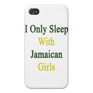 Je dors seulement avec les filles jamaïcaines coque iPhone 4
