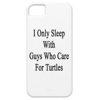 Je dors seulement avec les types qui s'inquiètent étui iPhone 5
