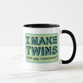 JE FAIS DES JUMEAUX, ce qui est la votre Mug