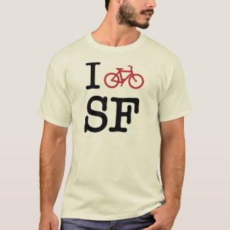 Je fais du vélo SF (faire du vélo de coutume SF) T-shirt