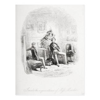 Je fais la connaissance de la Mlle. Mowcher Carte Postale