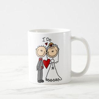 Je fais la tasse de cérémonie de mariage