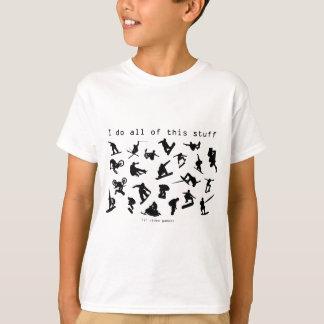 Je fais tout cette substance (en jeux vidéo) t-shirt