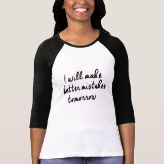 je ferai une meilleure conception de T-shirt