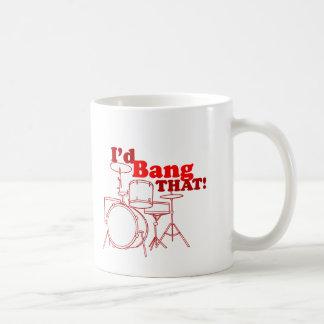 Je frapperais cela ! mug