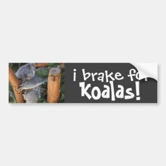 je freine pour des KOALA ! adhésif pour pare-chocs Autocollant Pour Voiture