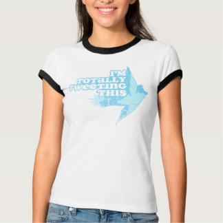 Je gazouille totalement ce T-shirt