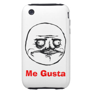 Je Gusta Coques iPhone 3 Tough