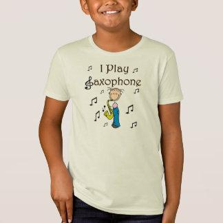 Je joue le chiffre T-shirts et cadeaux de bâton de