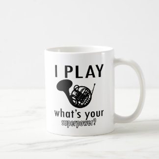 Je joue le cor de harmonie mug