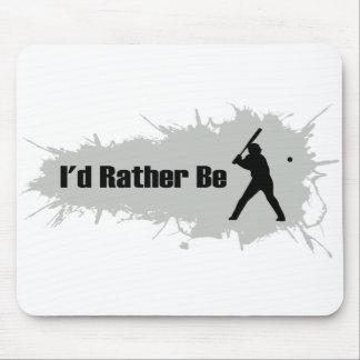 Je jouerais plutôt au base-ball tapis de souris
