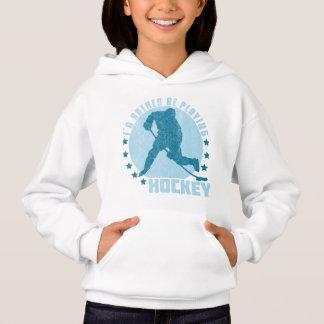 Je jouerais plutôt le sweatshirt d'hockey