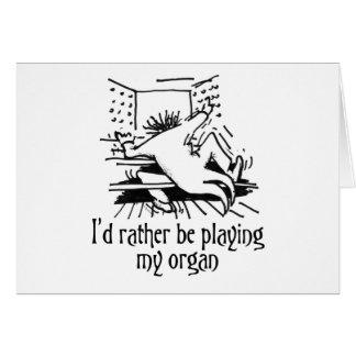 Je jouerais plutôt mon organe ! cartes