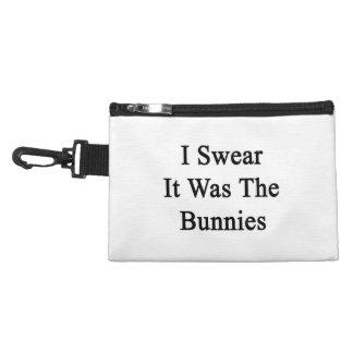 Je jure que c'était les lapins trousses pour accessoires
