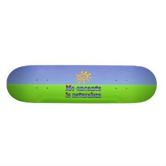 Je La Naturaleza - nature d'Encanta d'amour d'I da Skateboard