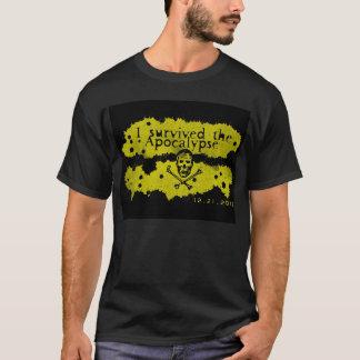 """Je le T-shirt 2 ai survécu à apocalypse"""