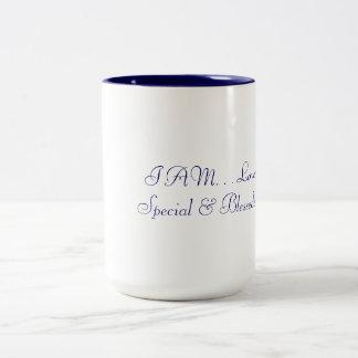 JE les tasses suis aimé, spécial et béni