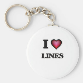 Je lignes d'amour porte-clés