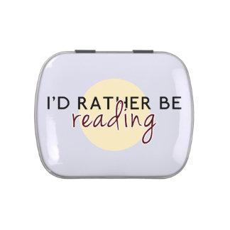 Je lirais plutôt - pour des amoureux des livres boites jelly belly