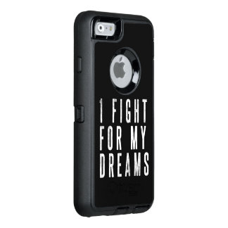 Je lutte pour votre cas de téléphone de Stong de Coque OtterBox iPhone 6/6s