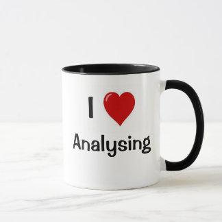 Je m'aime analyser me demande pourquoi ? Citation Mugs