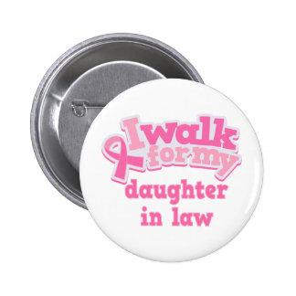 Je marche pour ma belle-fille badge