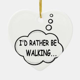 Je marcherais plutôt ornement cœur en céramique