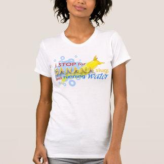 Je m'arrête pour des lingots de banane, augmentant t-shirts