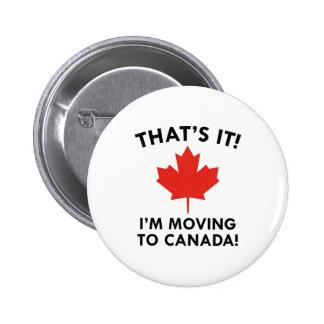 Je me déplace au Canada Badge