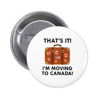 Je me déplace au Canada Badges