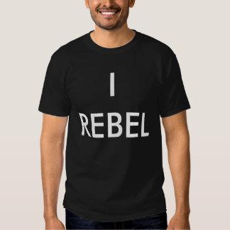 """Je me rebelle "" T-shirts"