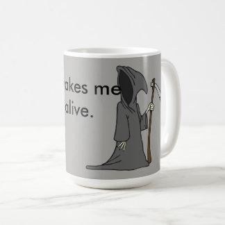 Je me sens si vivant mug
