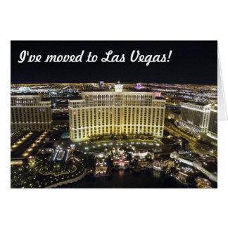 Je me suis déplacé à Las Vegas Carte De Vœux