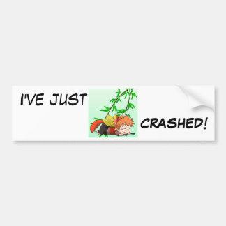 Je me suis juste brisé autocollant de voiture