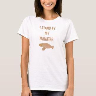 Je me tiens prêt mon T-shirt de lamantin