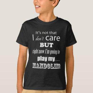 Je m'inquiète la mandoline t-shirt