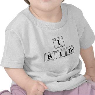 Je mords le ballot de chimie de bébé de Tableau pé T-shirts