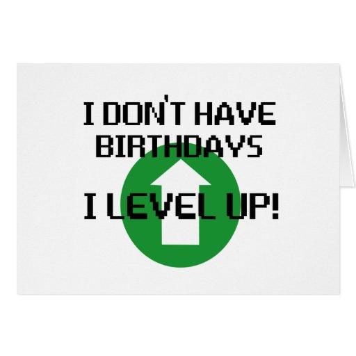 Je n'ai pas des anniversaires… cartes de vœux