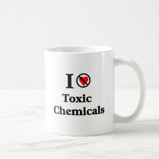 Je n'aime pas les produits chimiques toxiques tasse
