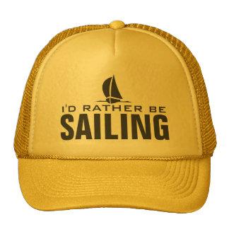 Je naviguerais plutôt des chapeaux casquette