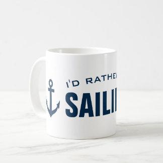 Je naviguerais plutôt la tasse de café nautique