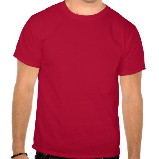 Je ne cours pas, je fais, gros pas traînant de gar t-shirt